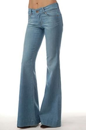 J Brand Love Story Low Rise Bell Bottom Jeans in Oniel Wash - I ...