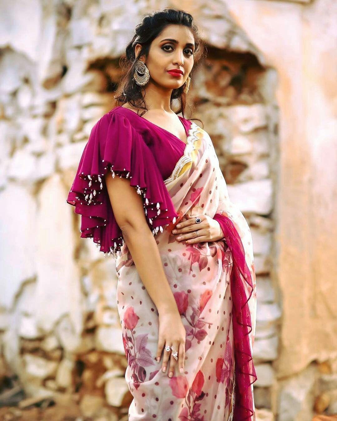 60+ Best #Trending Blouse Sleeve Design | Bridal Wear Ideas images in 2020 | blouse designs, trendy blouse designs, bridal wear