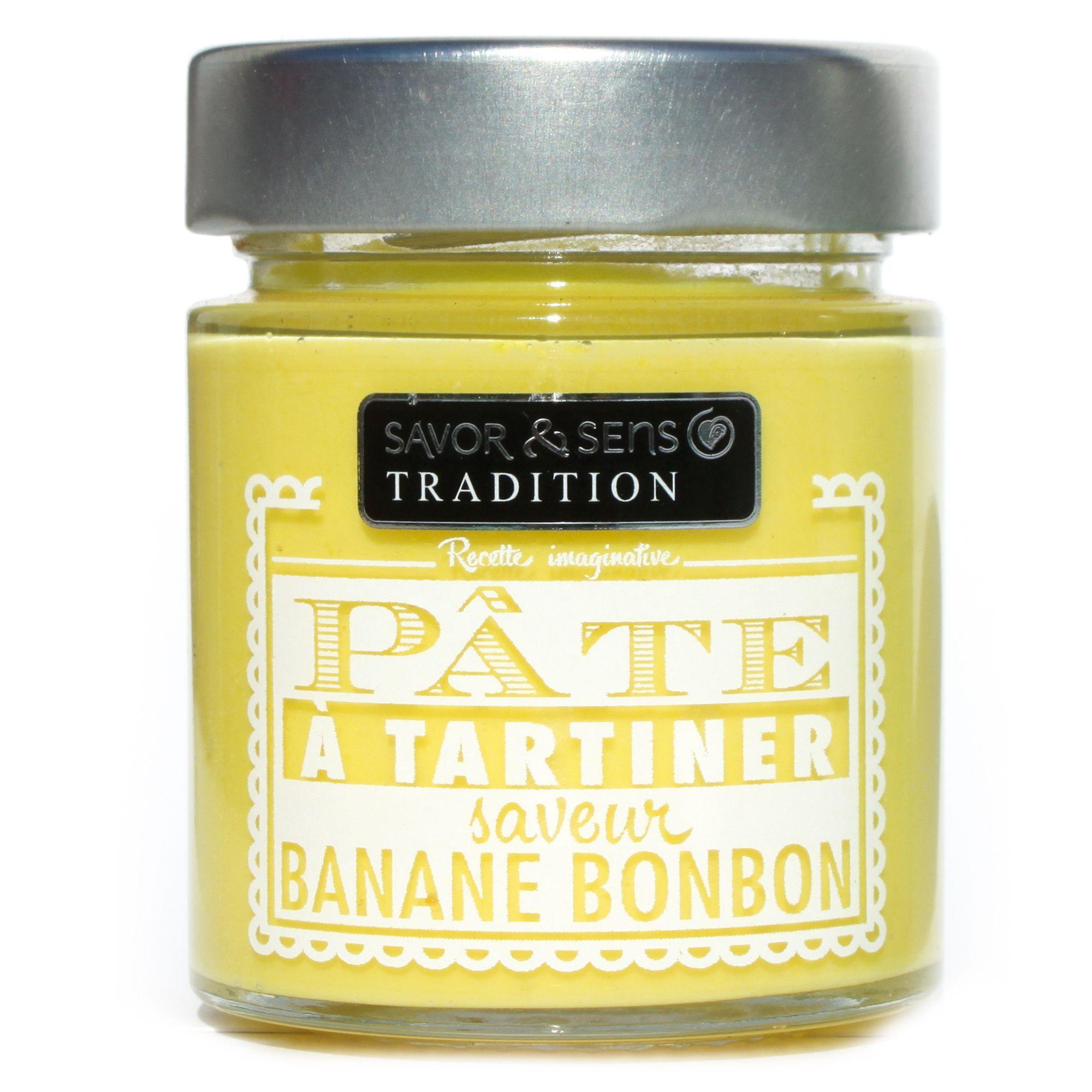 Pâte à tartiner saveur bonbon à la banane - 150 g - Pastels - Plaisirs sucrés-Épicerie gourmande-Cuisine-Par pièce - Décoration intérieur - Alinea