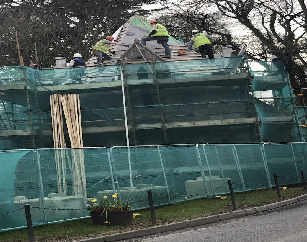 Roofing Repairs In Cork Irish Government Listed Building Glounthaune Cork Roofing Contractors Roofing Roof Repair