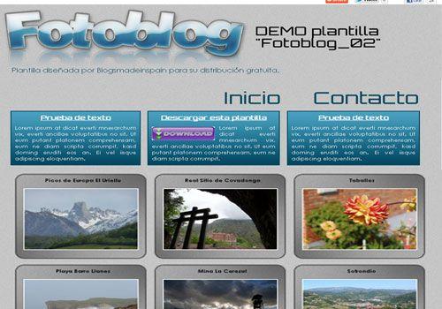 Fotoblog   Designs Blogger Themes   Pinterest   Blogger themes and ...