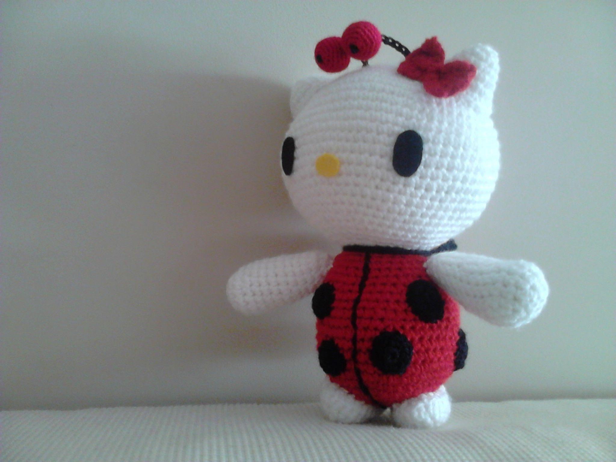 Amigurumilacion : Hello kitty mariquita. http: amigurumilacion.blogspot.com.es