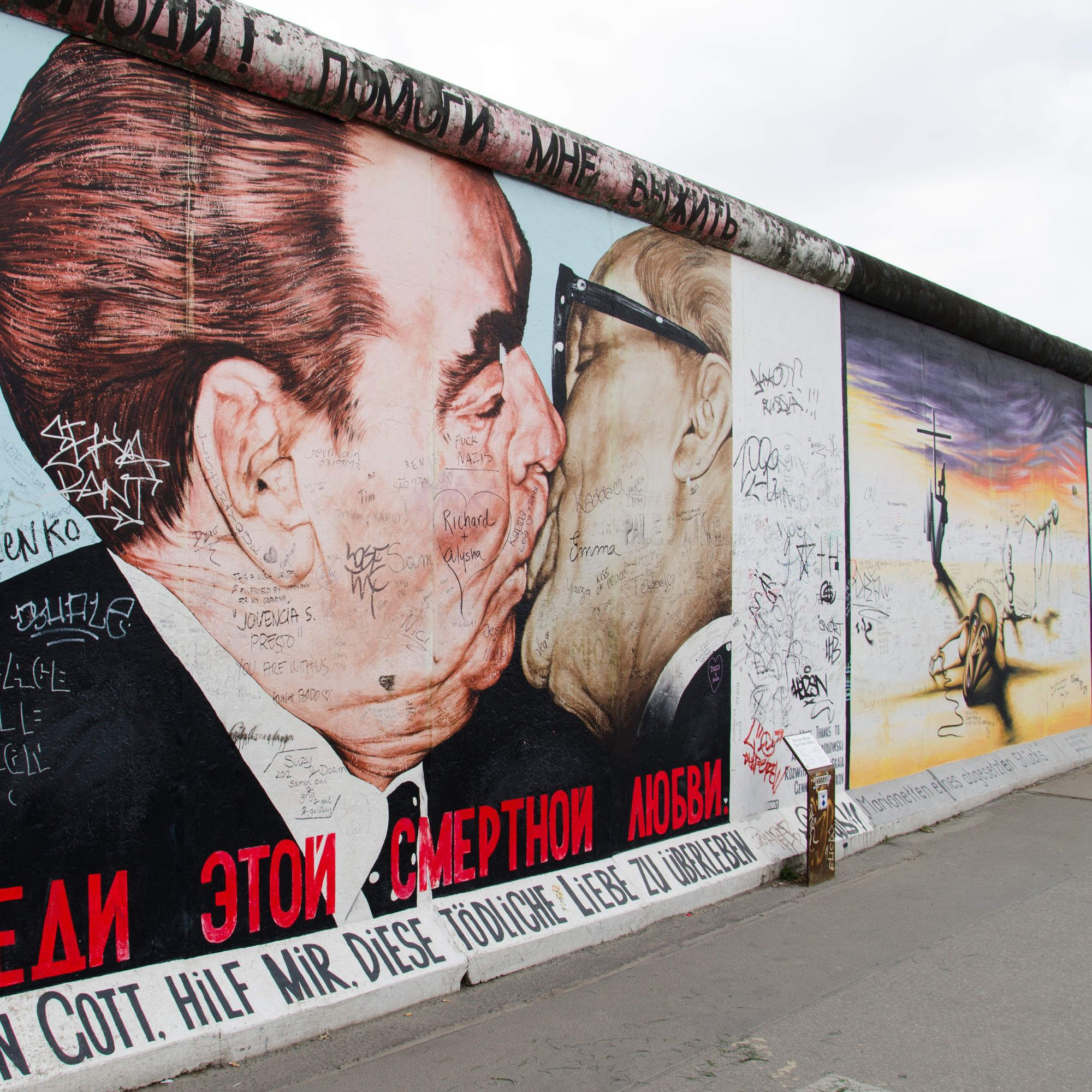 Europe S Coolest Street Art With Images East Side Gallery Street Art Berlin