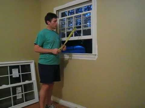 How To Install A Replacement Window Pella Series 20 From