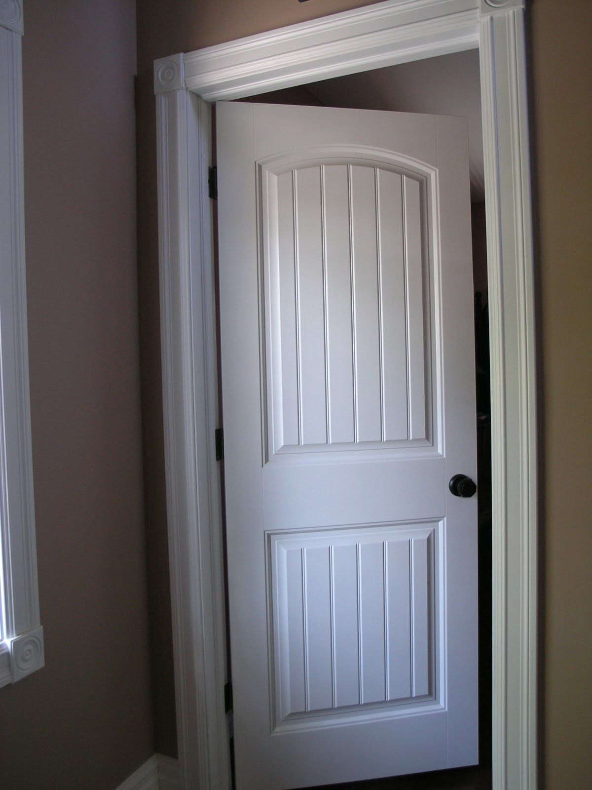 Interior Doors Are Of The Colonial Style With Emtek Door Handles