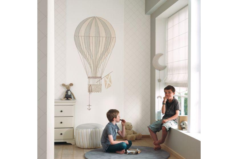 Casadeco Tapetenwandbild Heissluftballon beige bei