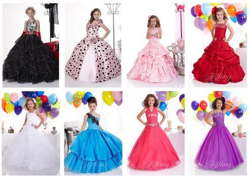 Длинные платья для детей 12 лет