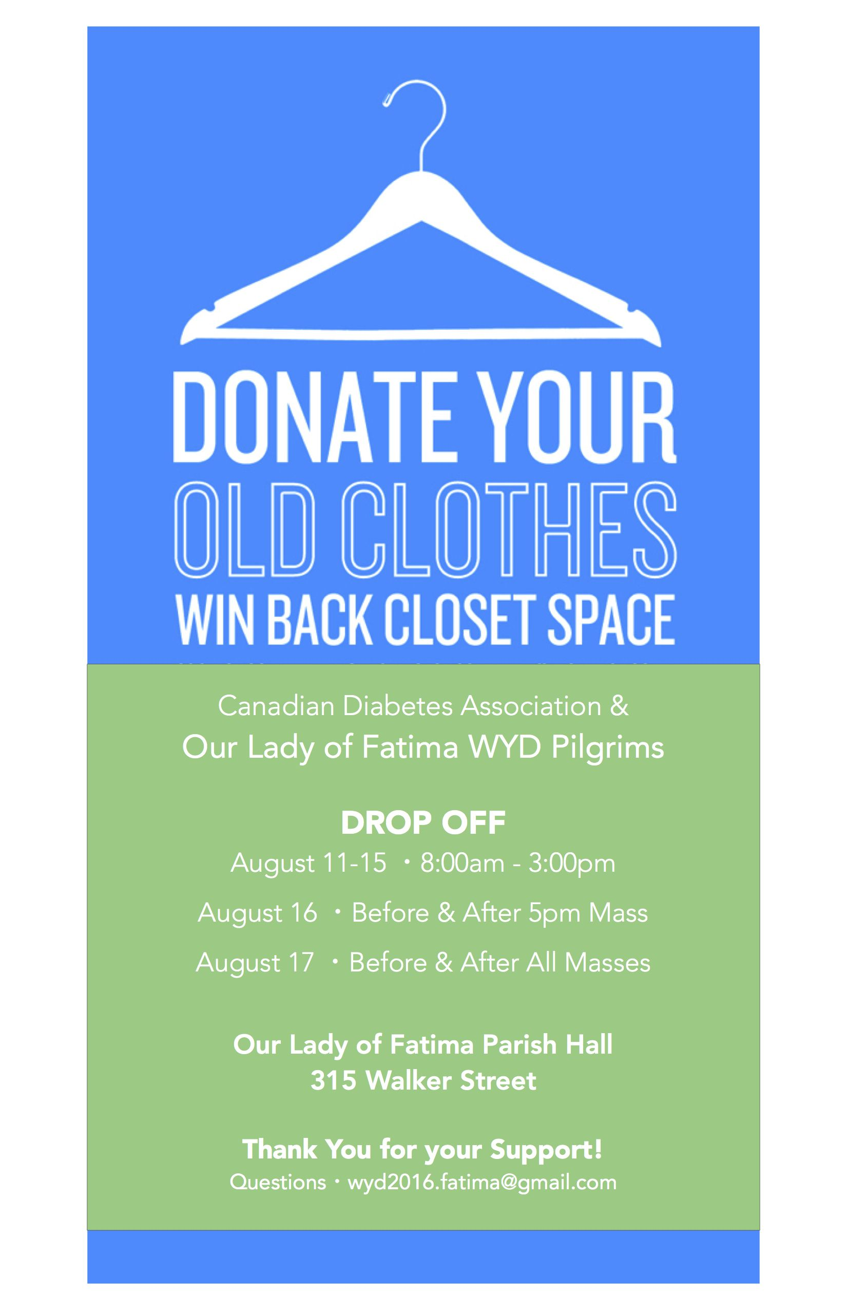 Clothing Drive Poster Google Search Drive Poster
