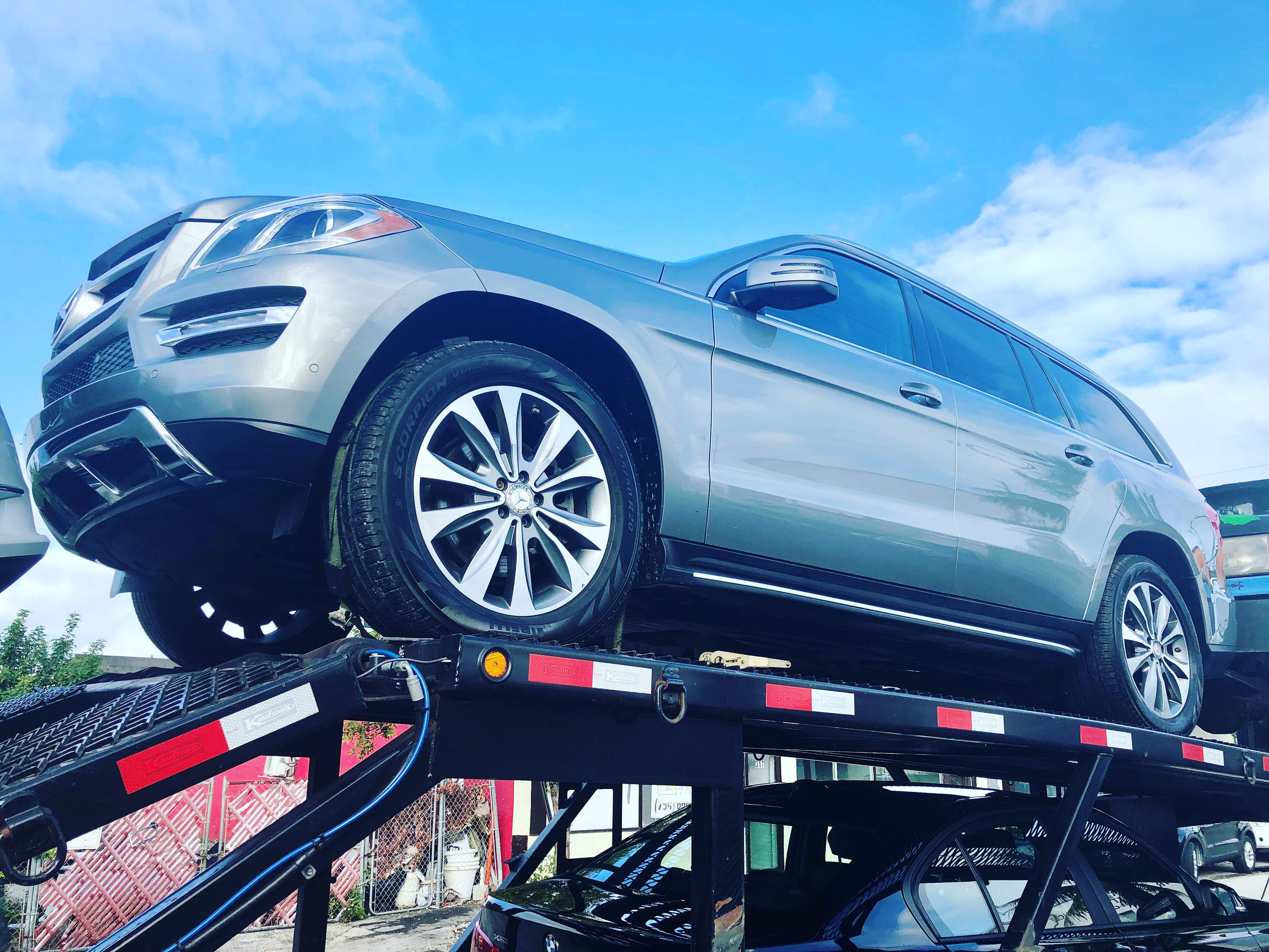 This awesome 2015 MercedesBenz GL450 is on its way to a
