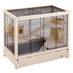 Ferplast Hamsterville Hamster Cage W60 X H49cm Free Uk Delivery Hamster Cage Hamster Habitat Hamster Cages