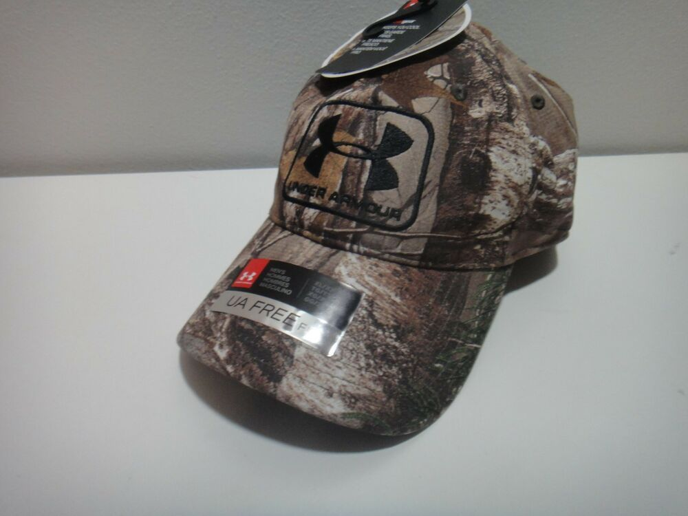 Under Armour Realtree Xtra Mens Heatgear Free Fit Camo Hat