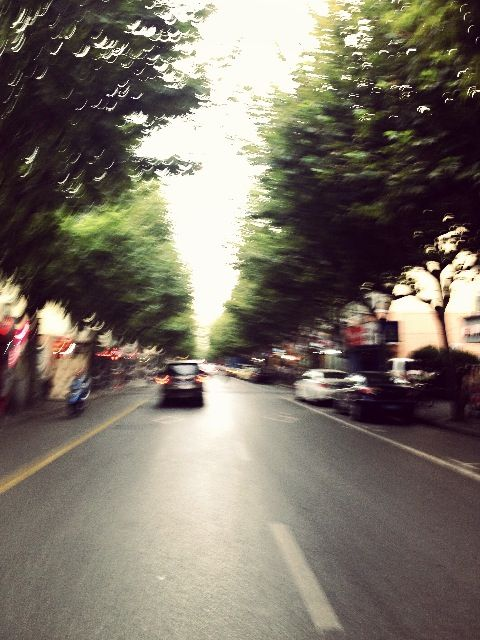 When I cross the road--Shanghai,China