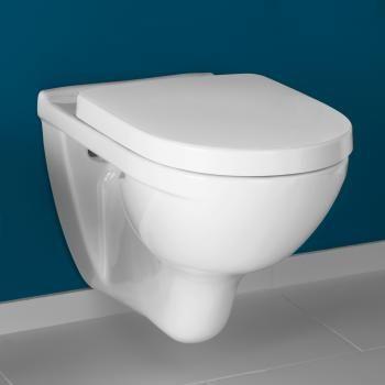 Großartig Villeroy & Boch O.novo Tiefspülwand-WC mit WC-Sitz L: 56 B: 36 cm  FL51