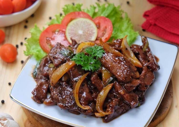 Resep Tumis Daging Bawang Bombay Oleh Susi Agung Resep Resep Daging Makan Malam Resep Daging Sapi