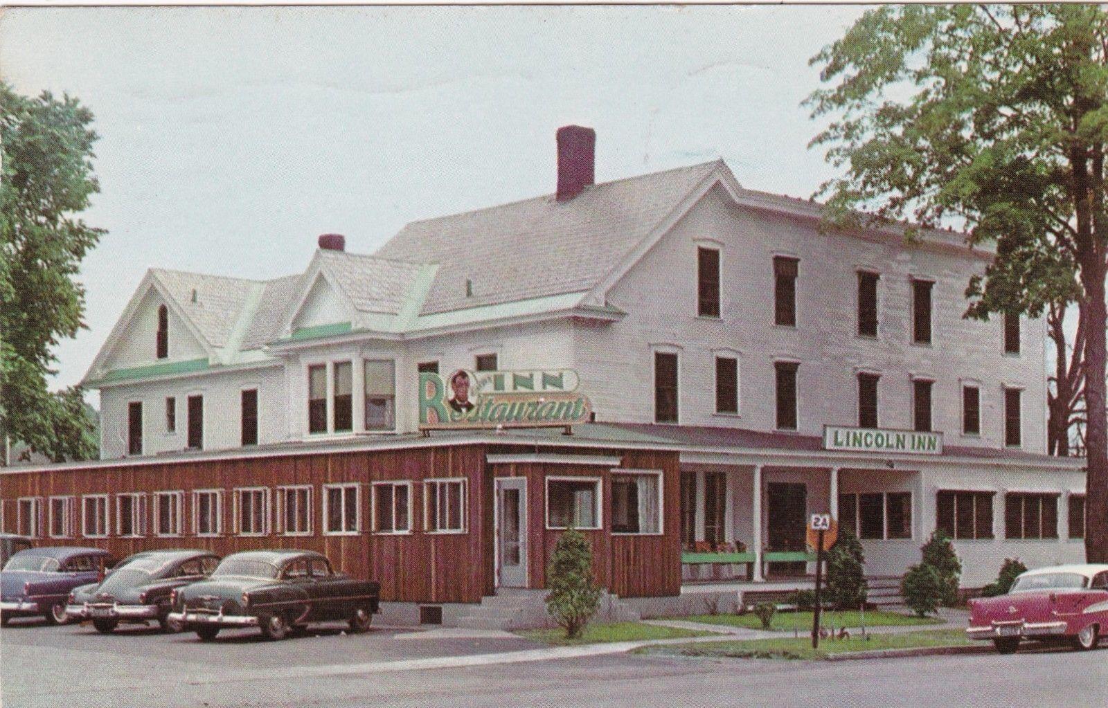 Details About Vermont Essex Junction The Lincoln Inn Hotel Restaurant 1956 Sk577 Essex Junction Hotel
