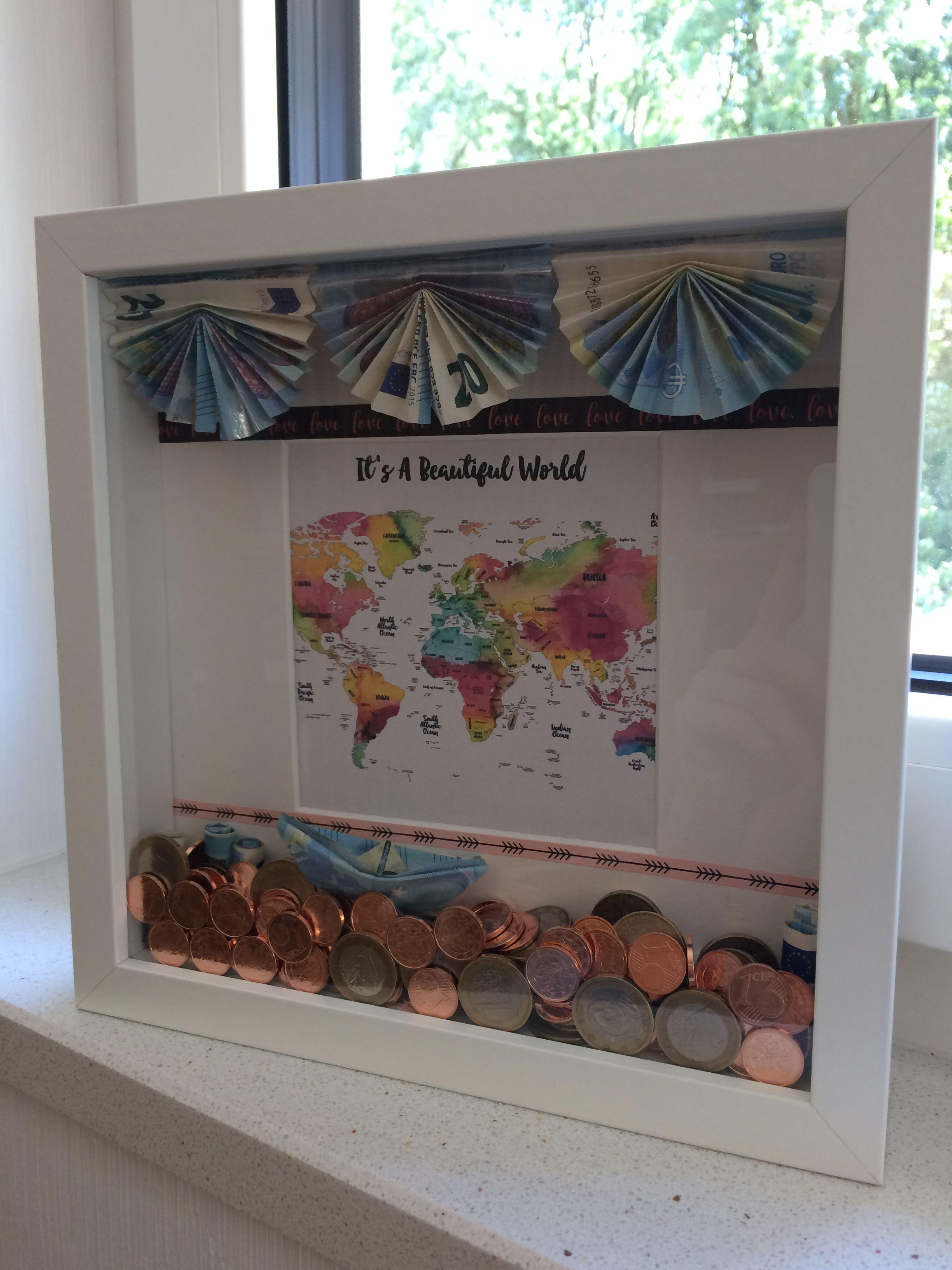 DIY IKEA Ribba Hochzeitsgeschenk Geldgeschenk für Flitterwochen …