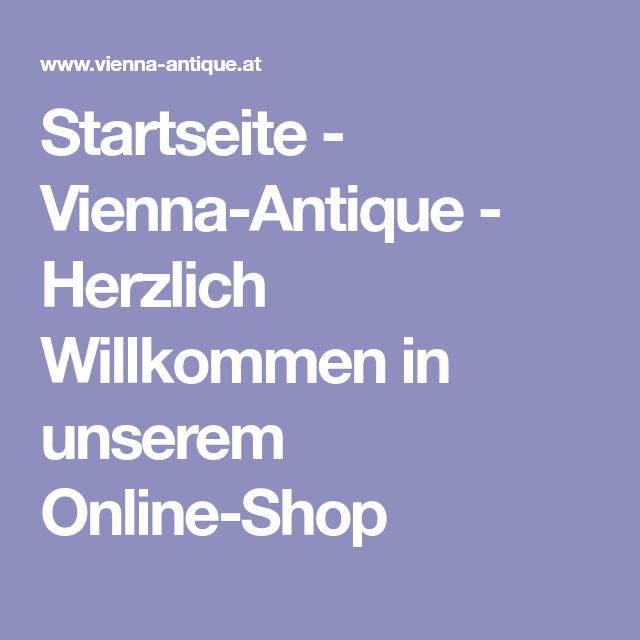 Startseite ViennaAntique Herzlich Willkommen in