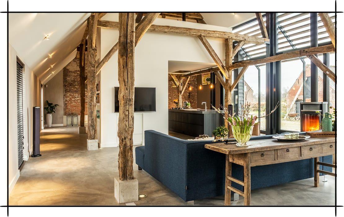 das moderne bauernhaus von joep van os jetzt couch wohnzimmer und schwarzer. Black Bedroom Furniture Sets. Home Design Ideas