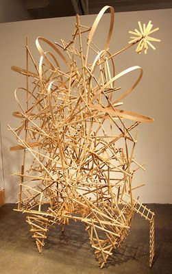 Art Propelled: A TANGLE OF TWISTING PATHS