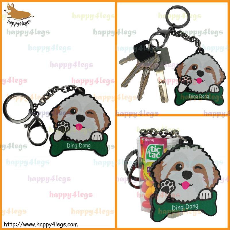 Shih Tzu Wooden Keychain  http://www.happy4legs.com/#!intl-shih-tzu-keychain/vyasp