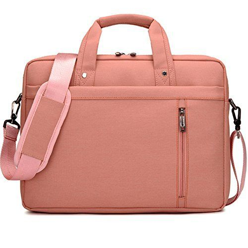 Humok 13 14 15 15 6 Inch Fashion Durable Waterproof Computer Laptop Notebook Tablets Macbook Messenger Shoulder Bag Carry Case Briefcase 14 6 Inches Pink Bags Trending Outfits Fashion