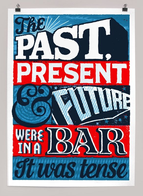 Past, present and future - Andy Smith Illustration