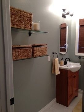 Glidden Dusty Miller With Images Bathroom Paint Colors