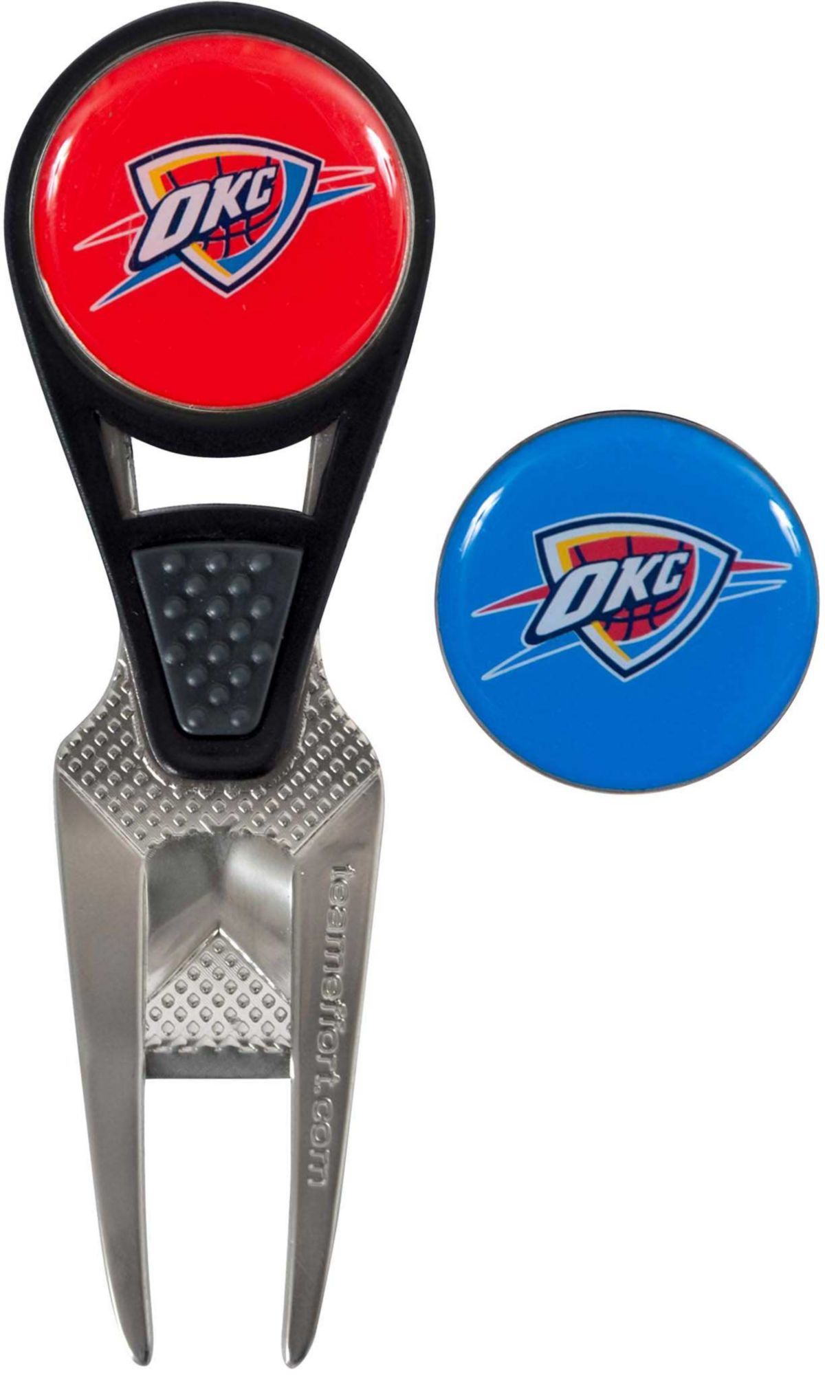 Team Effort Oklahoma City Thunder CVX Divot Tool and Ball