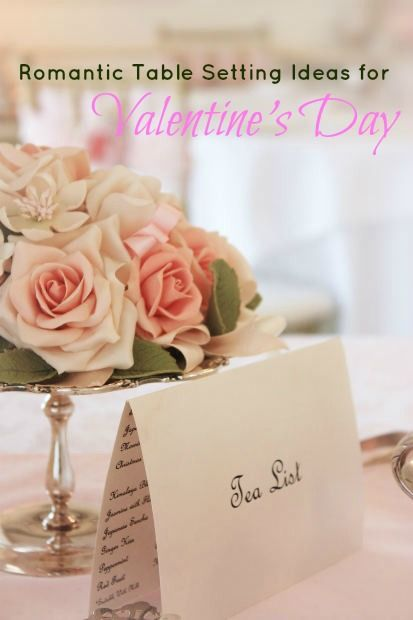 Valentine Table Decorations Ideas and Menus  More entertaining ideas here:   http://www.confessionsofanover-workedmom.com/tag/entertaining