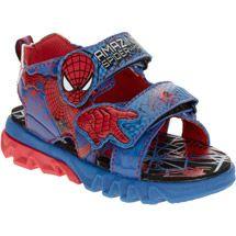 new spiderman boys sandals size 2