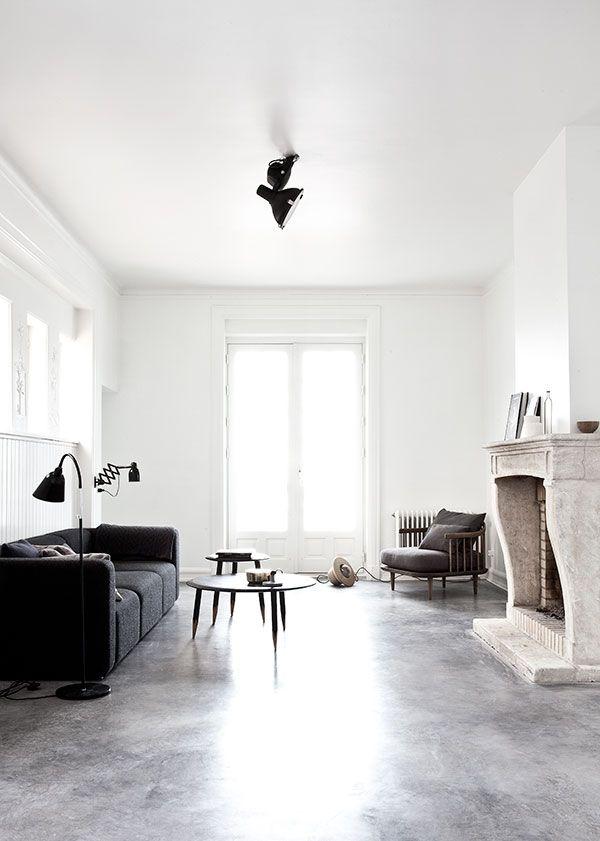 Interiors Crush Villa With Polished Concrete Floors Living Room Design Inspiration Living Room Designs Interior Design