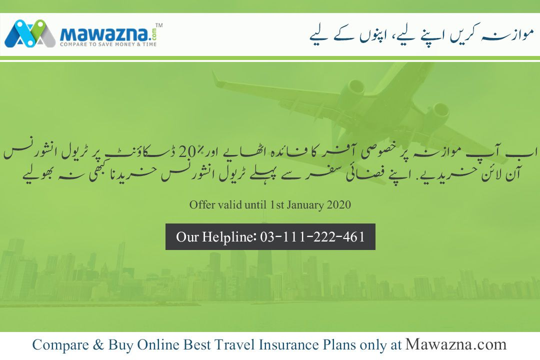 Grab The Travel Insurance At The Amazing Discount Of 20 Only At