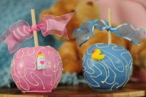 baby shower candy apples candy applescute baby shower idea