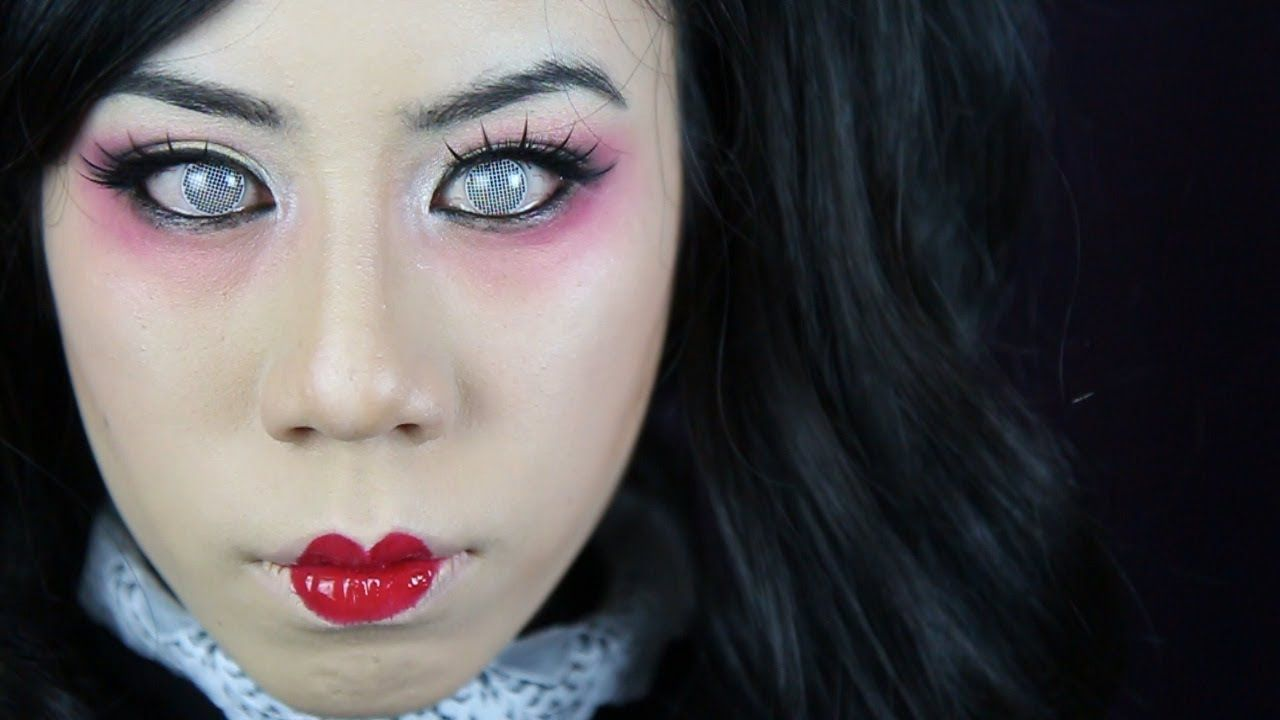 porcelain doll halloween 2013 makeup tutorial fables in fashion