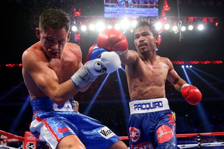 Manny Pacquiao Vs Floyd Mayweather Jr The Absurdity Is At Hand Top Rank Boxing Pacquiao Fight Manny Pacquiao