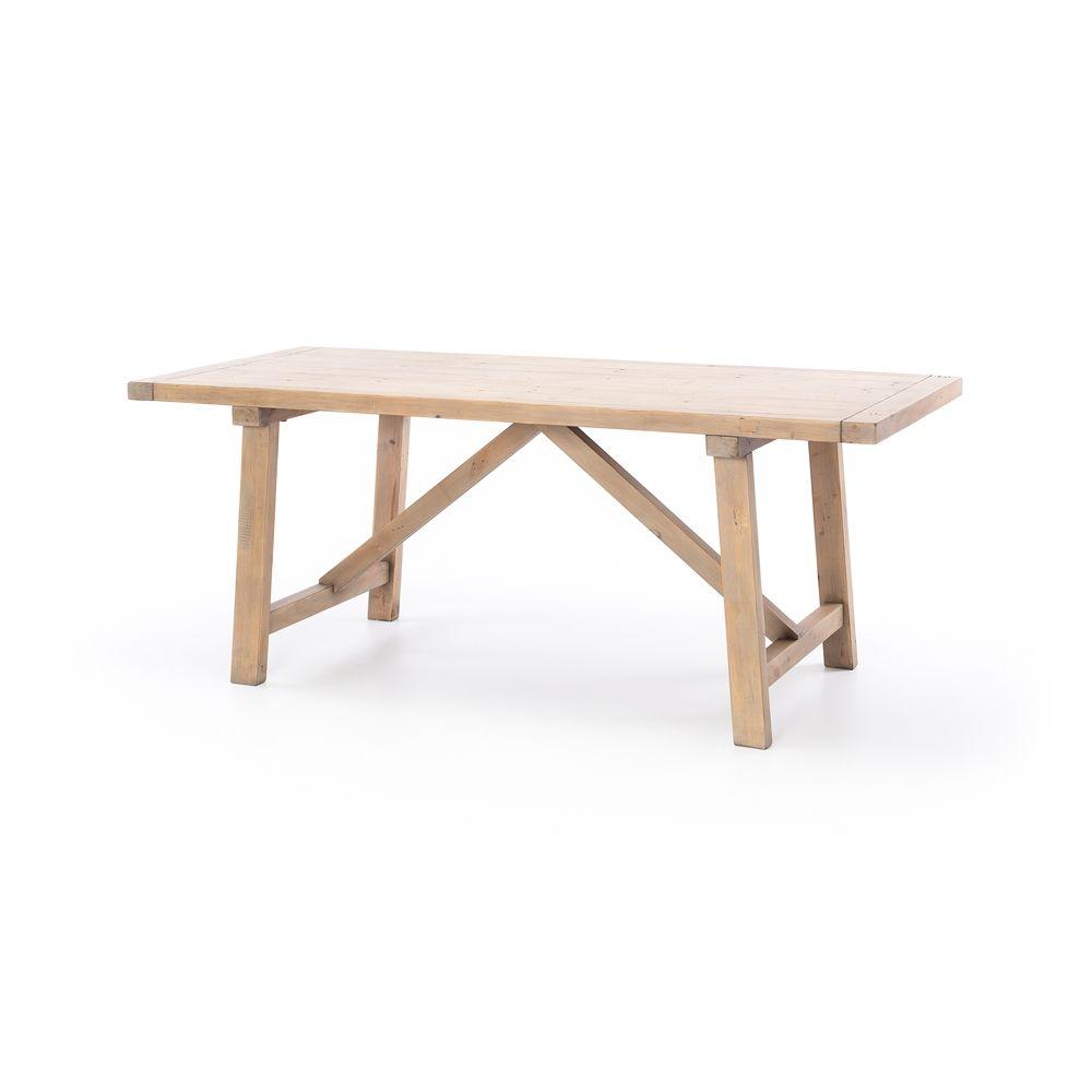 Toscana Medium Dining Table Tsd003 Dining Table Rustic Bench