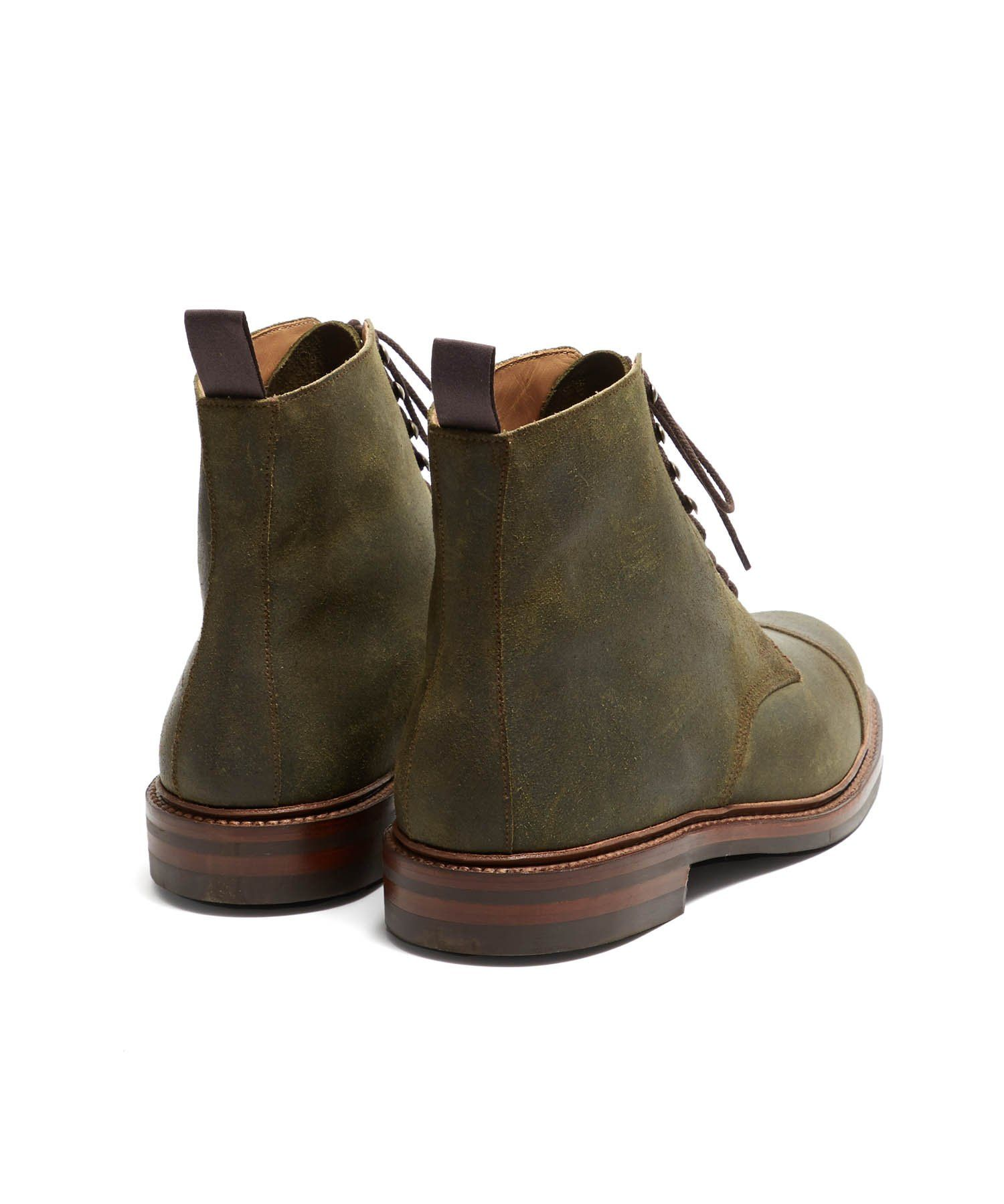 73afbf411eb Crockett and Jones Coniston Green Rough Out Suede | Products | Boots ...