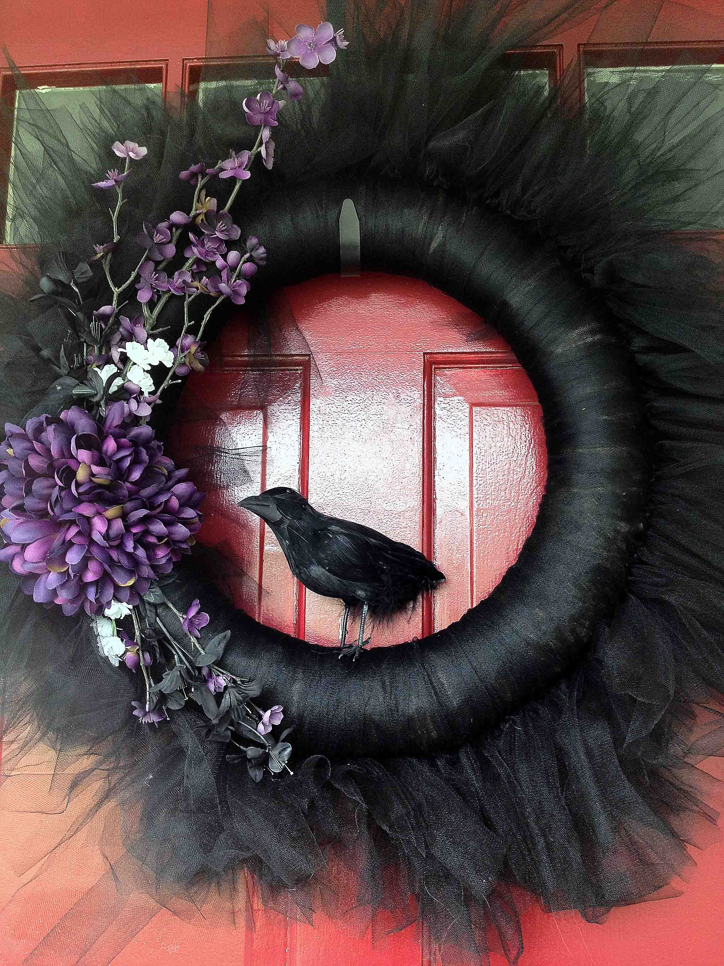 Baltimore Ravens/Halloween Wreath :) | A Smith of All Trades ...