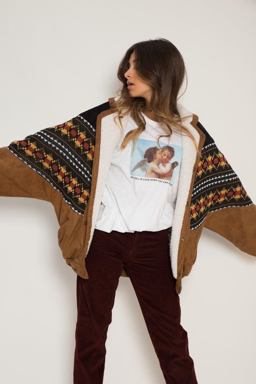 Abrigo Navajo Vancouver Vegan American Vintage Clothing Bomber Jacket Vintage Vintage Outfits [ 1300 x 867 Pixel ]