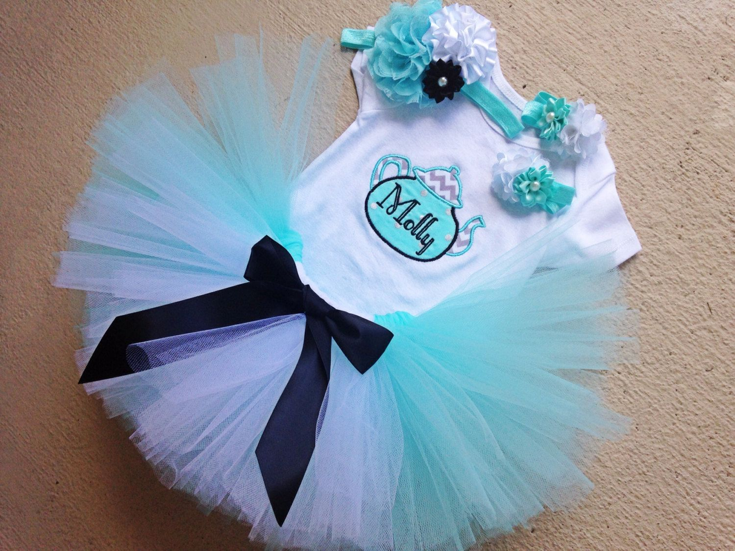 Alice in Wonderland Birthday Outfit, Tea Party Birthday, 1st-7th ...