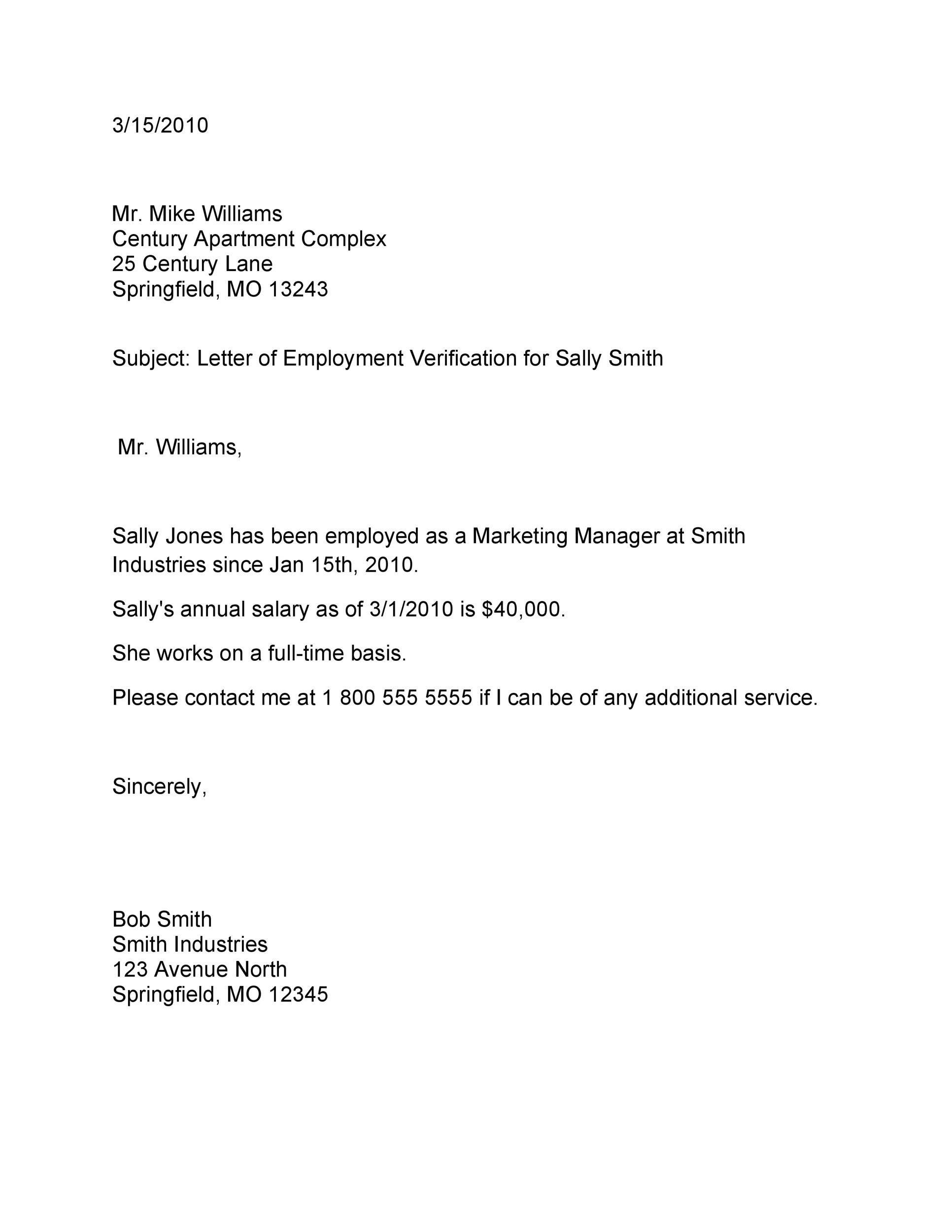 Form Templates Free Word Templates Employment Form Lettering Employment Verification Letter