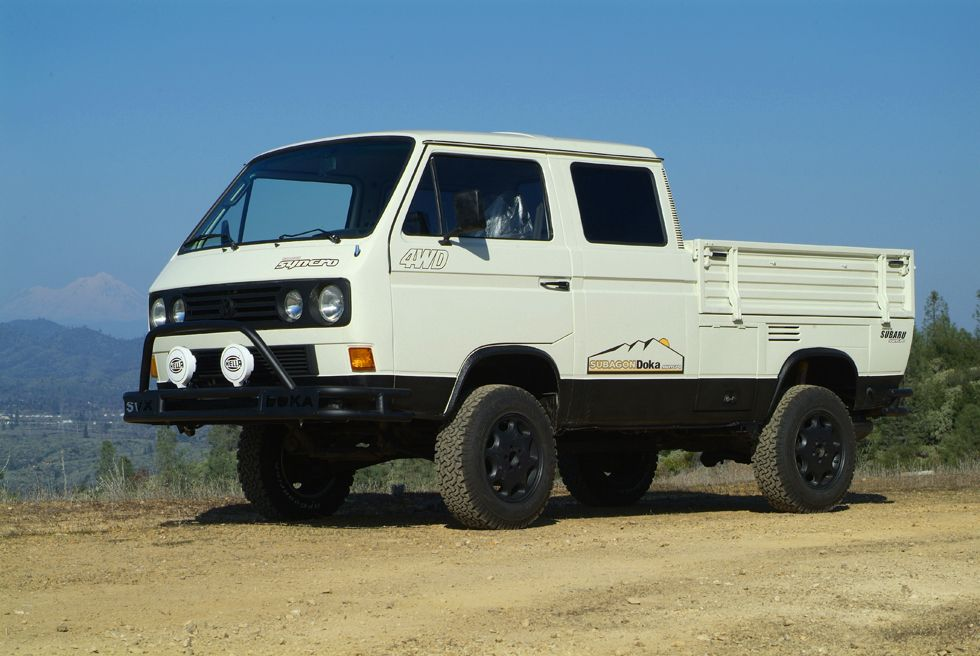 Vw Vanagon Truck Lifted 4wd Subaru Powered 1 1 Truck Vw