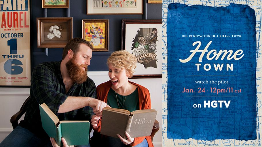 """erinandben.co """"Home Town"""" show on HGTV. Great style ideas"""