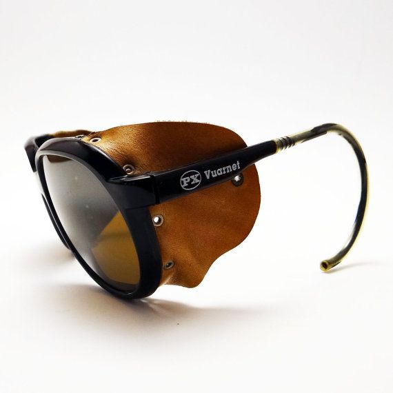 ea97a3e17b1 Vintage Ski Glasses By Vuarnet Aviator Style With by 94Boutique ...
