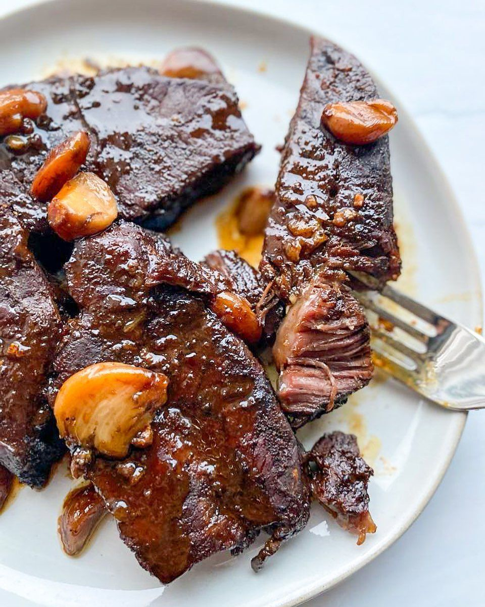 Heifa Easy Recipes On Instagram These Oven Baked Boneless Beef Short Ribs Are To Die For I Slow Cook Short Ribs Boneless Beef Short Ribs Slow Baked Ribs