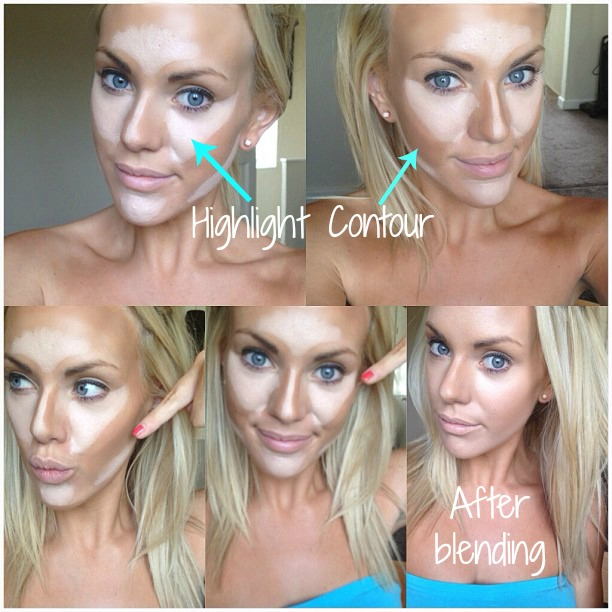 Contouring & Highlighting, How to - Contouring...ways to blend two ...