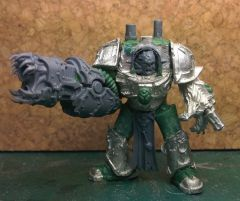 Sons of the Cyclops Black Legion Obliterator WIP 1
