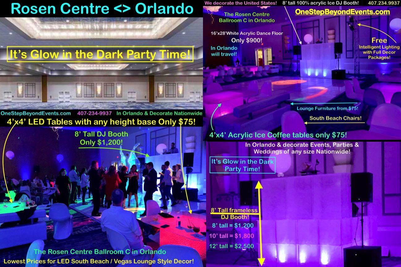 Glow In The Dark Party Ideas Neon