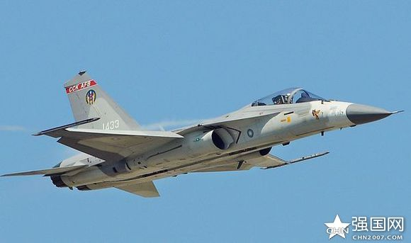 Taiwanese ADF fighter