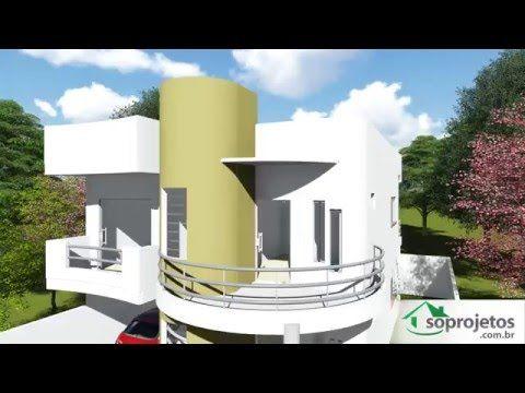 Diseños y Planos de Casas 2 pisos minimalista Proyecto CM2P K1 - casas minimalistas